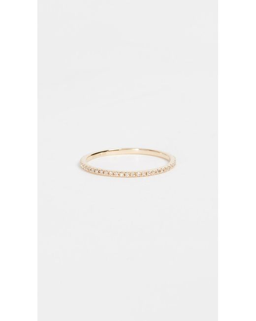EF Collection - Yellow Diamond Eternity Stack Ring - Lyst