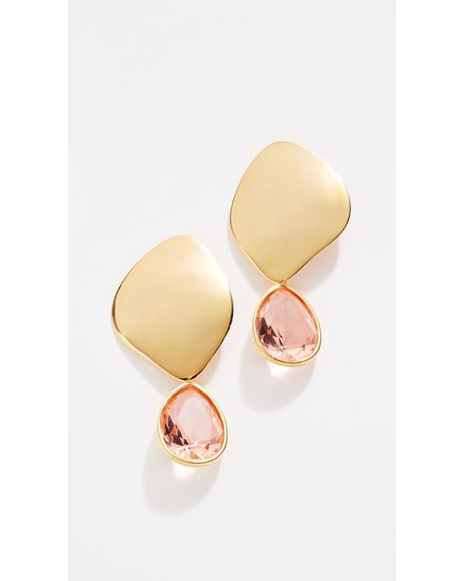 Lizzie Fortunato - Metallic Shooting Star Earrings - Lyst