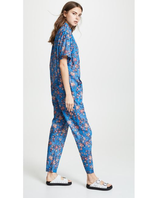 3dde69baa0 Lyst - Étoile Isabel Marant Lindsie Overall In Blue in Blue - Save 28%
