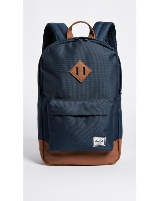 Herschel Supply Co. | Blue Heritage Mid Volume Backpack | Lyst