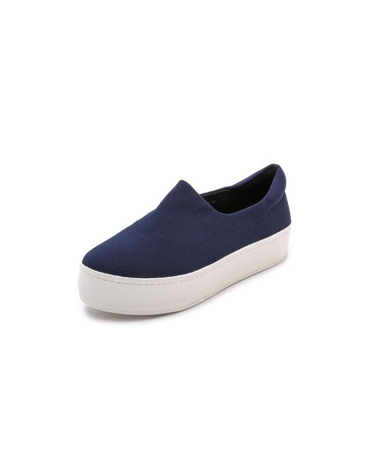 Opening Ceremony   Blue Cici Slip On Platform Sneakers   Lyst