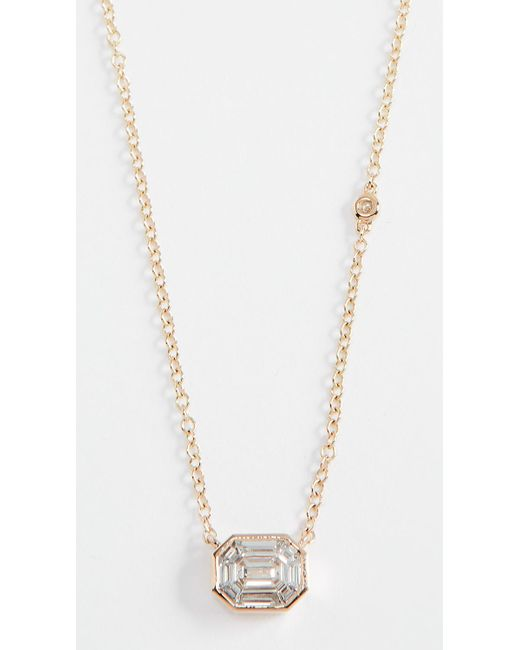 SHAY - Metallic Illusion Charm Necklace - Lyst