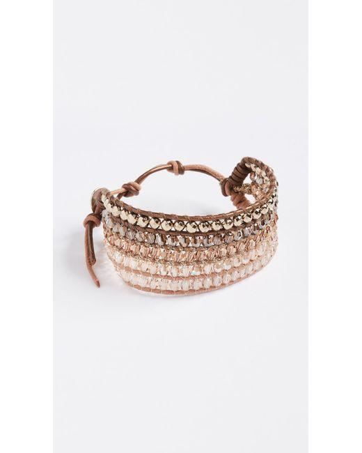 Chan Luu | Multicolor Stone Mix Wrap Bracelet | Lyst