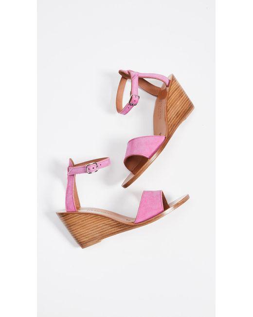 2964dc05ab60 ... K. Jacques - Pink Sardaigne Wedge Sandals - Lyst ...