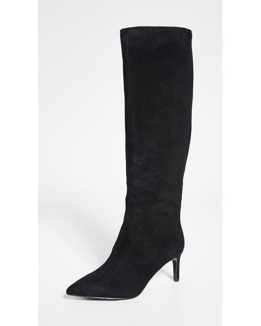 Alice + Olivia Black Maeven Tall Boots