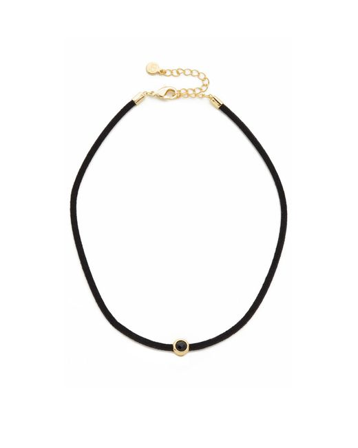 Gorjana | Black Fairfax Gemstone Choker Necklace | Lyst