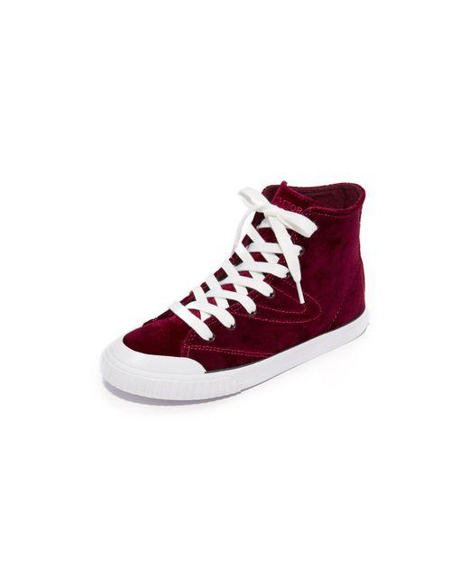 Tretorn | Multicolor Marley Velvet High Top Sneakers | Lyst