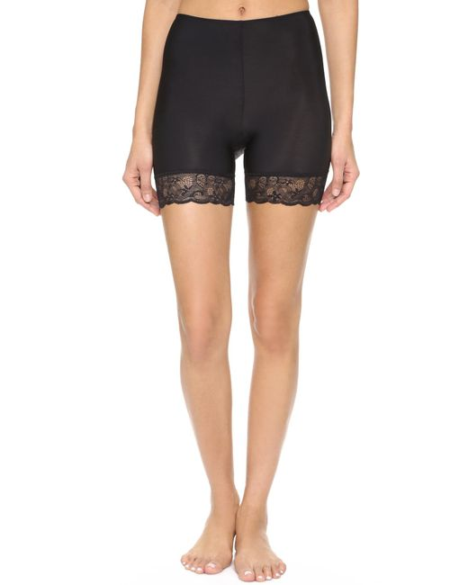 Only Hearts | Black Second Skins Bike Shorts | Lyst