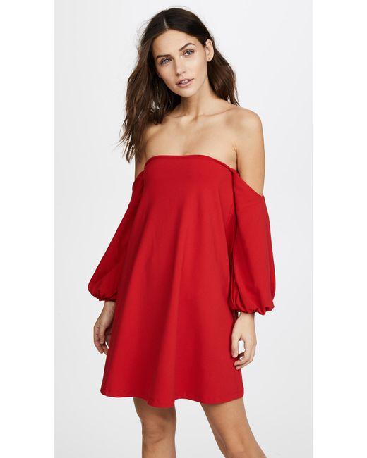 Susana Monaco - Red Cyndi Dress - Lyst