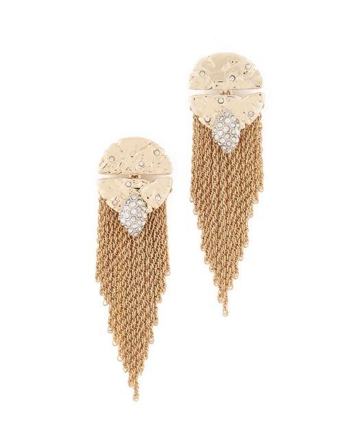 Alexis Bittar | Metallic Fringe Earrings | Lyst