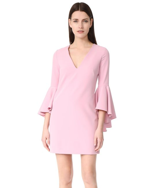 MILLY | Pink Cady Nicole Dress | Lyst