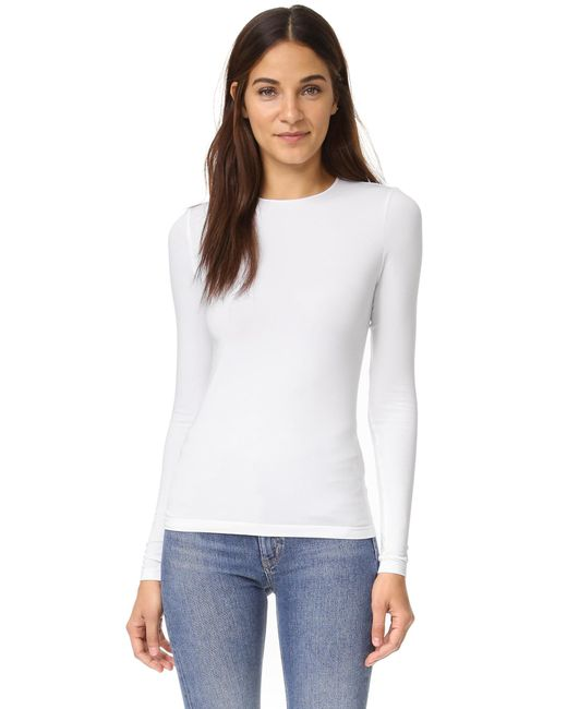 Wolford - White Viscose Pullover - Lyst