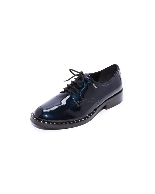 Ash | Blue Wilco Studded Oxfords | Lyst