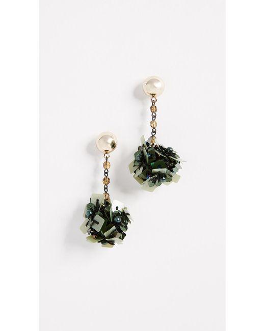 Lulu Frost | Green Rumba Earrings | Lyst