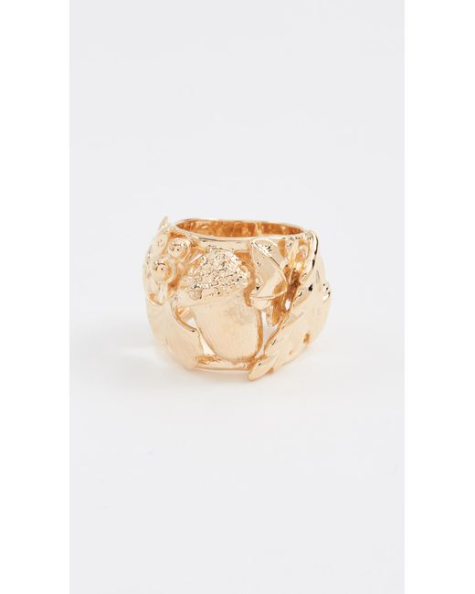 Aurelie Bidermann | Metallic Barbizon Ring | Lyst