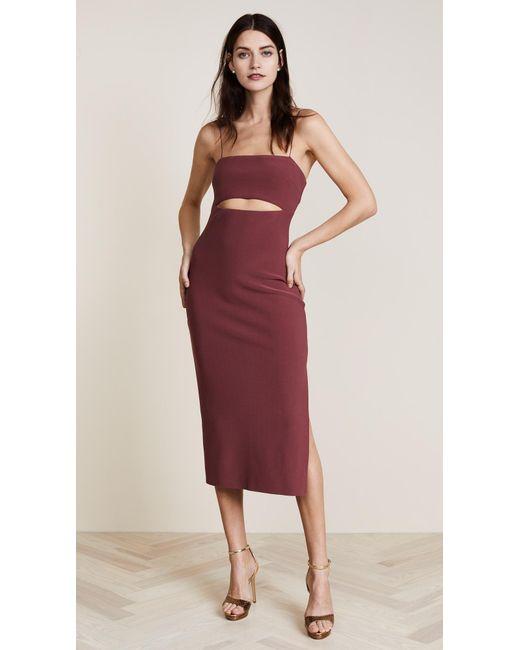 Bec & Bridge | Red Lady Allure Split Dress | Lyst