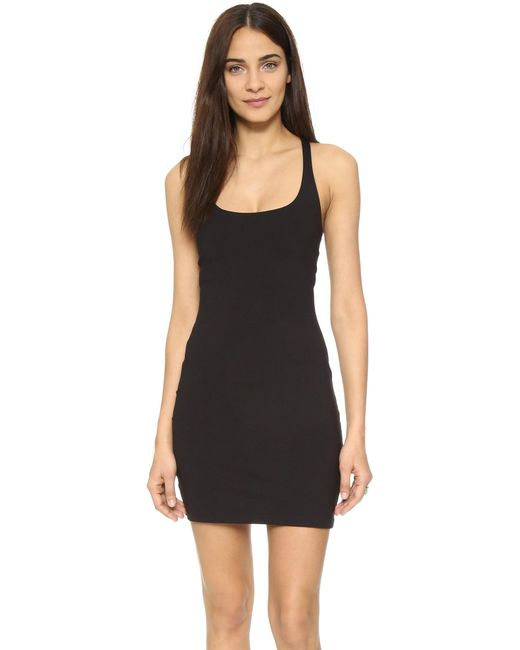 Susana Monaco - Black Racer Mini Dress - Lyst