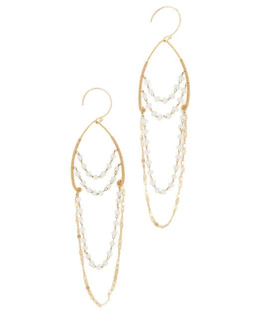 Serefina   Multicolor Delicate Chandelier Earrings   Lyst