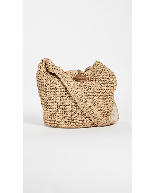 Hat Attack | Natural Toggle Sling Bag | Lyst