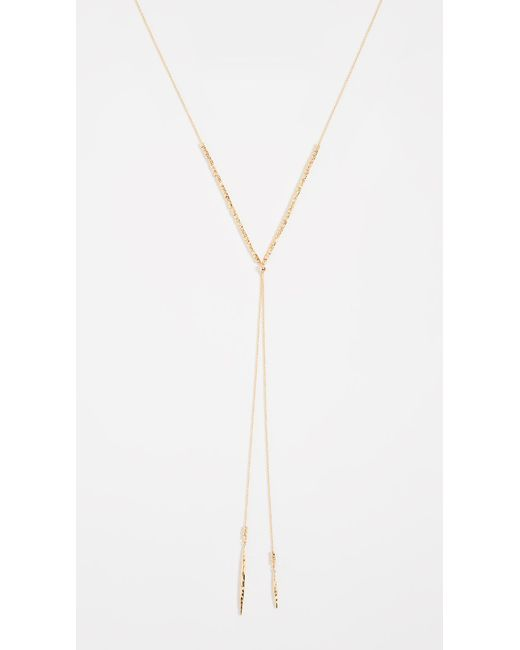 Gorjana - Metallic Laguna Adjustable Necklace - Lyst