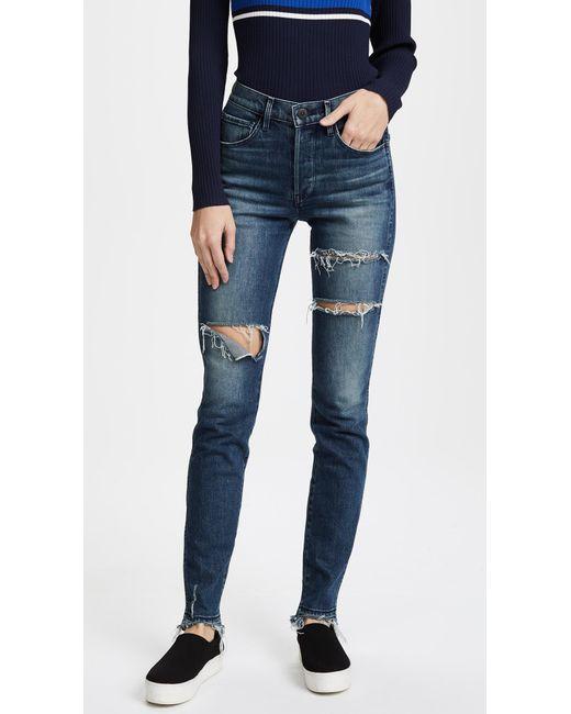 3x1 | Blue W4 Shelter Slim Jeans | Lyst