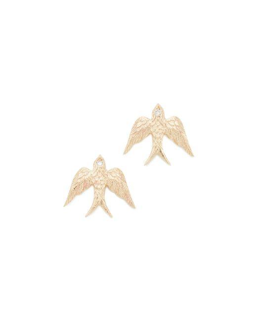 Nora Kogan | Multicolor Swallows Earrings | Lyst