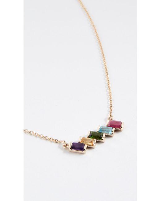 Eden Presley - Metallic 14k Gold Rainbow Brite Necklace - Lyst
