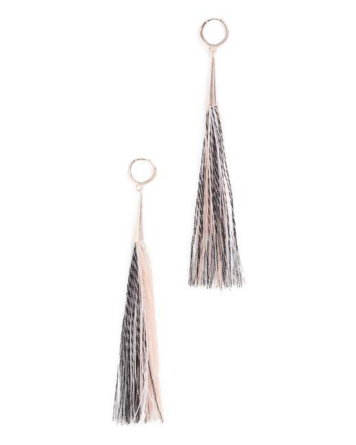 Rebecca Minkoff | Multicolor Long Tassel Earrings | Lyst