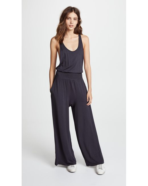 70cf3b14fd2 Free People - Black Movement Maia Jumpsuit - Lyst ...