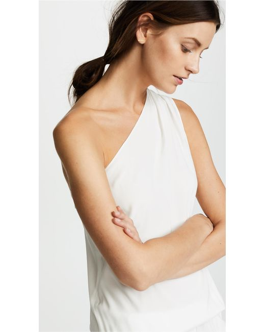 655e3f214864 ... Ramy Brook - White Lulu One Shoulder Jumpsuit - Lyst ...