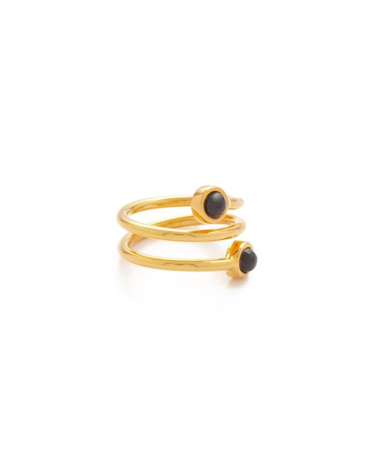 Lizzie Fortunato | Metallic Spiral Pinky Ring | Lyst
