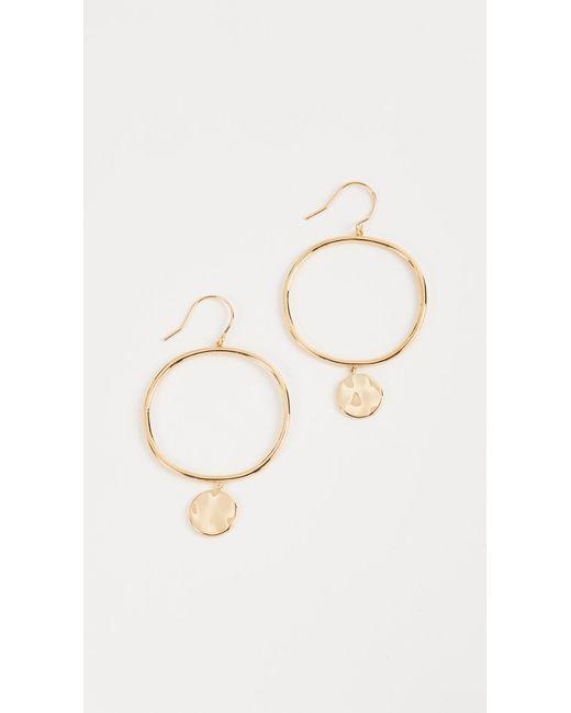 Gorjana | Metallic Chloe Earrings | Lyst