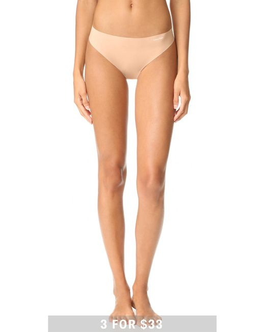 Calvin Klein | Multicolor Invisibles Thong | Lyst