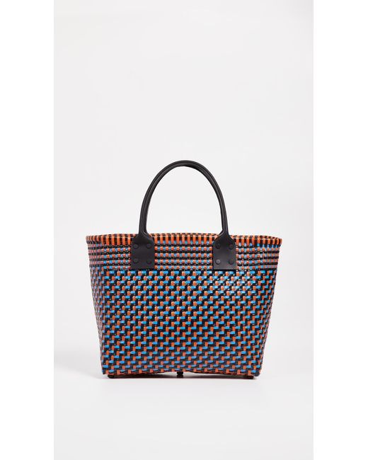 Truss - Multicolor Medium Tote With Leather Handle - Lyst