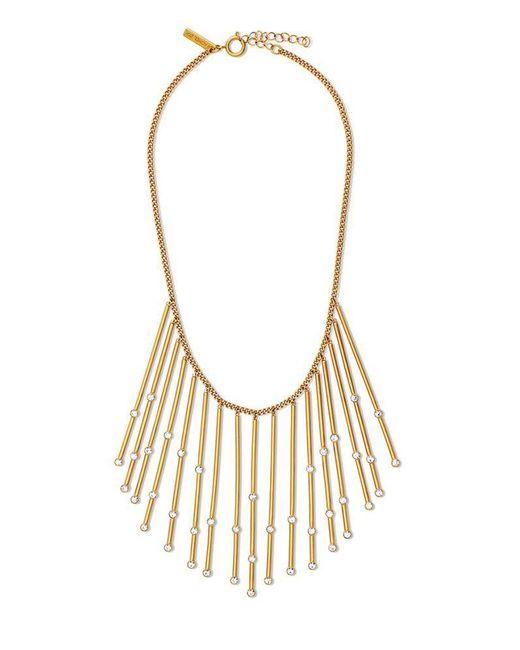 Rachel Zoe   Metallic Maxine Constellation Crystal Necklace   Lyst
