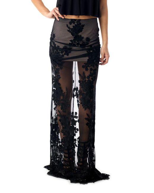 Sky - Black Kohaha Skirt - Lyst