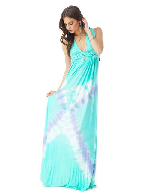 Sky - Blue Tahbert Maxi Dress - Lyst