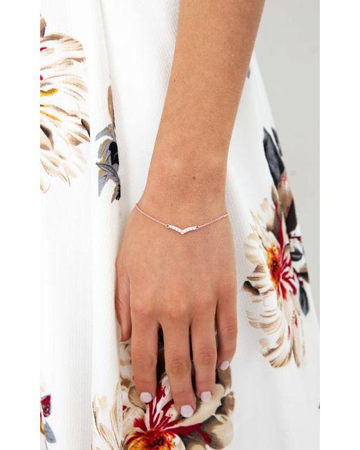 Showpo - Multicolor For My Lover Bracelet In Rose Gold - Lyst