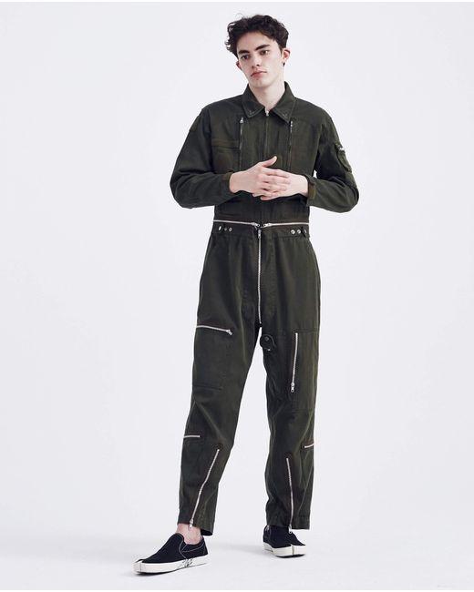 4453e9e647a7 ... Maison Margiela - Black Flight Jumpsuit Pants for Men - Lyst ...
