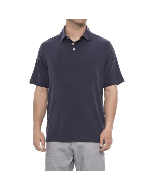 63e973620fd Lyst - Rainforest Modal Polo Shirt in Blue for Men