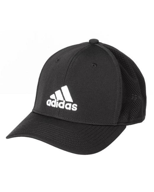 b0a790e6bb0 Adidas - Black Adizero Scrimmage Baseball Cap for Men - Lyst. View  fullscreen