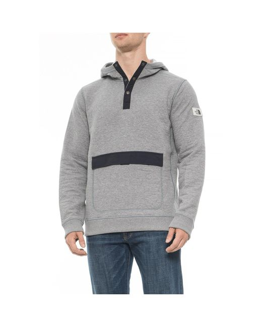 The North Face - Gray Re-source Hoodie (for Men) for Men - Lyst