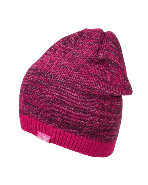 PUMA - Pink Shimmer Cat Beanie (for Women) - Lyst