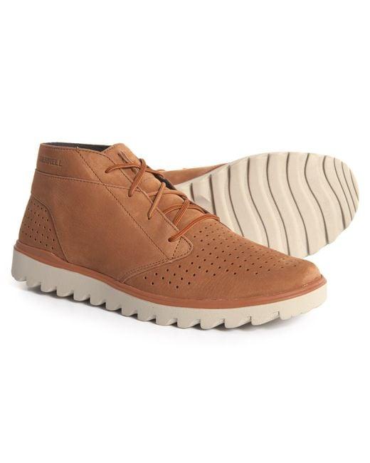 Merrell - Brown Downtown Chukka Boot for Men - Lyst