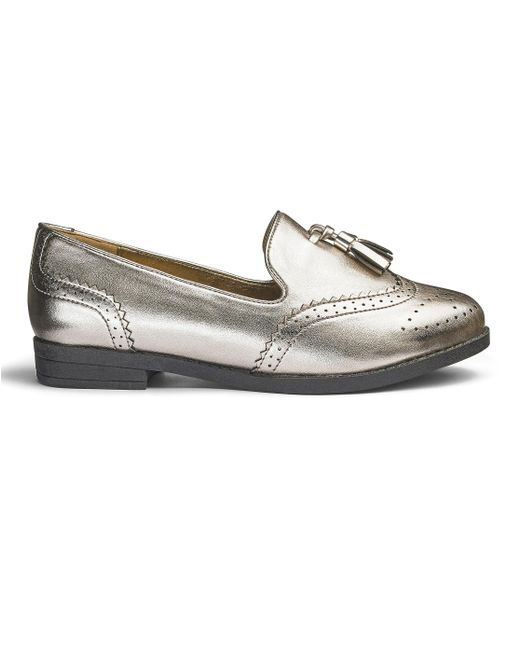 Simply Be - Multicolor Sole Diva Tassel Loafers - Lyst