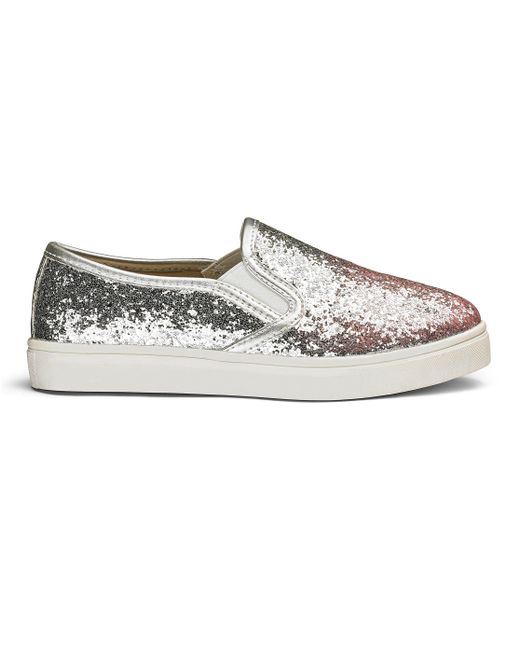 Simply Be - Multicolor Slip On Sneakers - Lyst