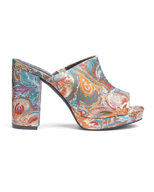 Simply Be - Multicolor Carrie Platform Mules - Lyst