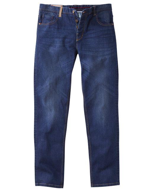 Simply Be - Blue Joe Browns Easy Joe Straight Leg Dark Wash Stretch Jeans for Men - Lyst