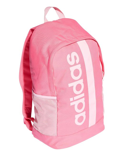 596c85734520 ... Simply Be - Pink Adidas Core Linear Backpack - Lyst ...