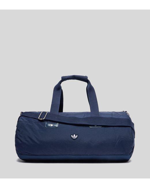 Adidas Originals - Blue Samstag Barrel Bag for Men - Lyst ... de7231c9b2951